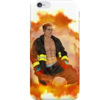 Connor Firefighter iPhone Case/Skin