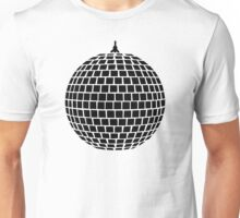 Mirror ball disco Unisex T-Shirt
