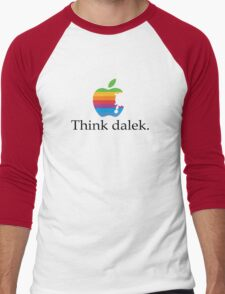 Think even more dalek Men's Baseball ¾ T-Shirt