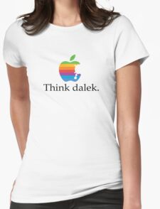 Think even more dalek Womens Fitted T-Shirt