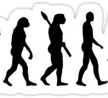 Evolution motocross Sticker