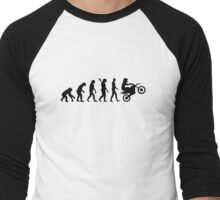 Evolution motocross Men's Baseball ¾ T-Shirt