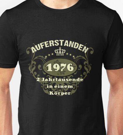 Happy Birthday Geburtstags T-Shirts / 1976/1 Unisex T-Shirt