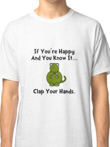 TRex Clap Your Hands Classic T-Shirt