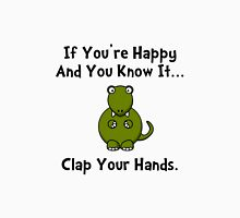 TRex Clap Your Hands Unisex T-Shirt