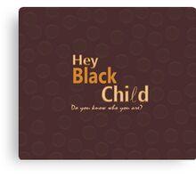 Black Child Collection Canvas Print