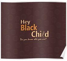 Black Child Collection Poster