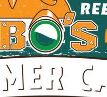 Robo's Summer Camp Sticker