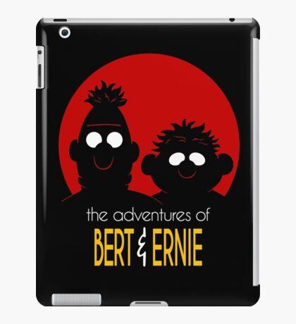 The adventures of bert & ernie iPad Case/Skin