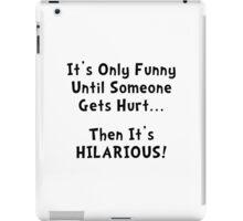 Funny Hurts iPad Case/Skin