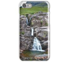 Waterfall Glencoe iPhone Case/Skin