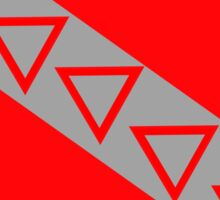 Tau Kapp Epsilon Flag Sticker