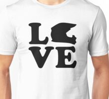 Motocross love Unisex T-Shirt