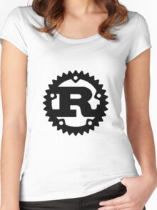 Rust Women's Fitted Scoop T-Shirt
