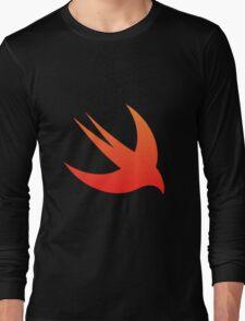 Swift Programming logo Long Sleeve T-Shirt