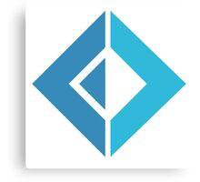 F# Fsharp logo Canvas Print