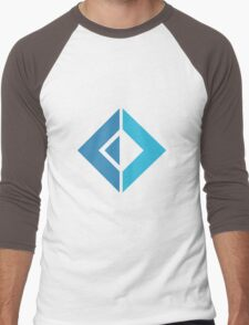 F# Fsharp logo Men's Baseball ¾ T-Shirt