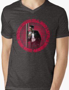 MR BLONDE - BARK ALL DAY Mens V-Neck T-Shirt