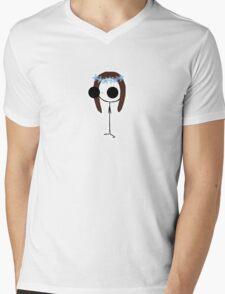 Flower Crown - Harrie Mens V-Neck T-Shirt