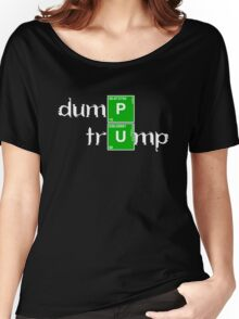 Dump Trump Breaking Bad Women's Relaxed Fit T-Shirt