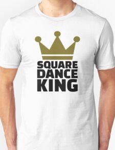Square dance king Unisex T-Shirt