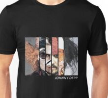 Johnny Depp Characters Unisex T-Shirt