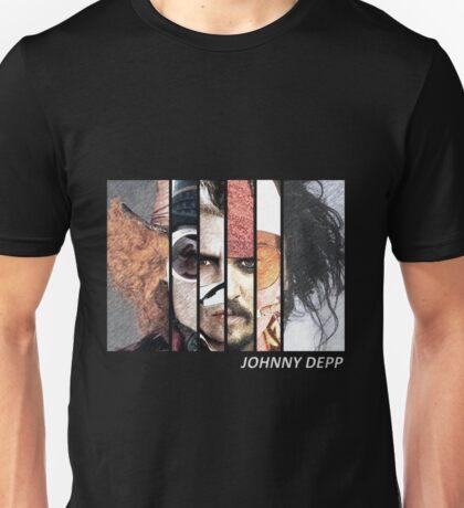 Johnny Depp Characters Unisex T-Shirt