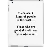 Math People iPad Case/Skin