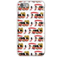 Play that funky music soldier boys! iPhone Case/Skin