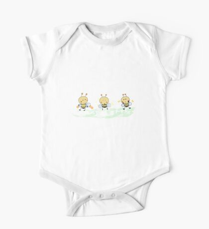 Smiling Bee One Piece - Short Sleeve