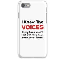 Voices In Head iPhone Case/Skin