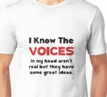 Voices In Head Unisex T-Shirt