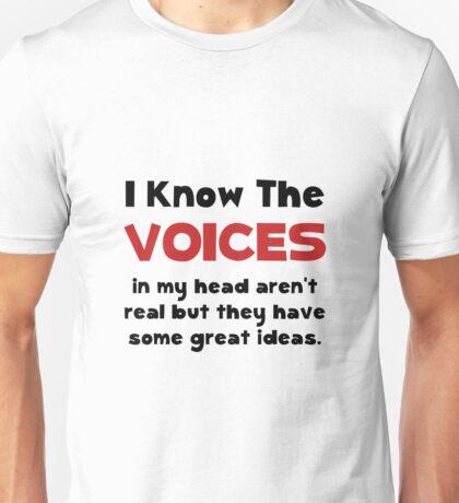 Voices In Head Unisex T-Shirt