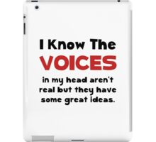 Voices In Head iPad Case/Skin