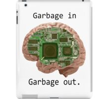 Garbage in Garbage out iPad Case/Skin