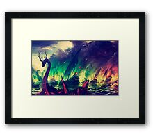 BlackWater Wildfire  Framed Print