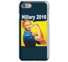 hillary 2016 iPhone Case/Skin