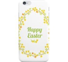 Happy Easter Day iPhone Case/Skin