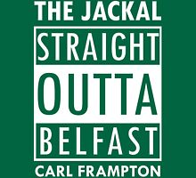 Straight Outta Belfast - Carl Frampton The Jackal (Colour Version) Unisex T-Shirt