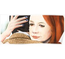 Amy Pond and the 11th Doctor Poster