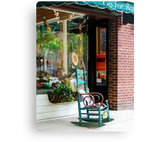 Princeton NJ - Rocking Chair by Boutique Canvas Print