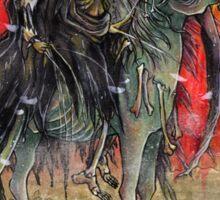 4 horsemen - DEATH Sticker