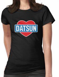Datsun Love Womens Fitted T-Shirt
