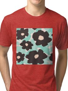 Abstract Floral 2 Tri-blend T-Shirt
