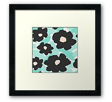 Abstract Floral 2 Framed Print