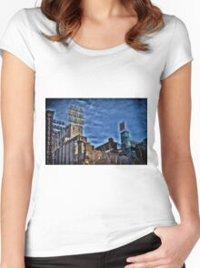Minneapolis 21 Women's Fitted Scoop T-Shirt