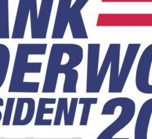 Underwood Logo 2016 Sticker