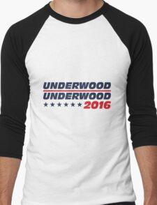 Frank Underwood for President Men's Baseball ¾ T-Shirt