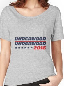 Frank Underwood for President Women's Relaxed Fit T-Shirt