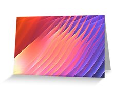 Sun Pink Delta  Greeting Card